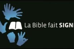 L'Evangile de Luc en langue des signes française