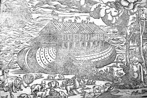 Le déluge dans la Genèse et dans l'Epopée de Gilgamesh