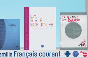 Les différentes traductions de la Bible proposées par l'ABF