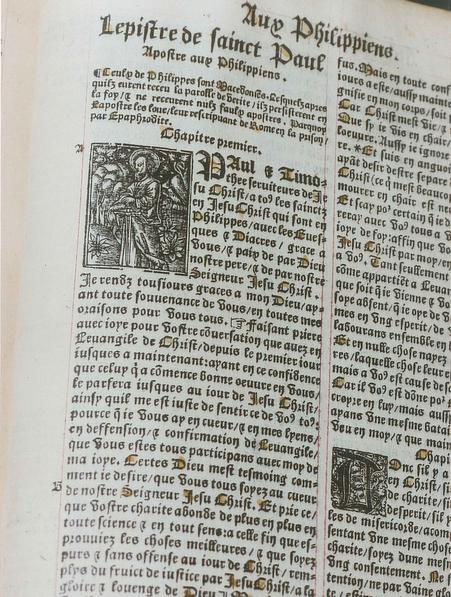 Première traduction en français, par Lefèvre d'Etaples, à partir du latin.