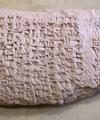 Création de l'alphabet cunéiforme