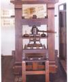Invention de l'imprimerie par Gutemberg