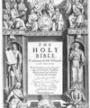 Nouvelle traduction de la Bible en anglais, grâce au Roi Jacques 1er d'Angleterre